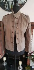 ladies Miss Posh casuals jacket size 14 beige pre owned