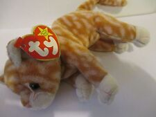 TY BEANIE  AMBER THE GINGER CAT