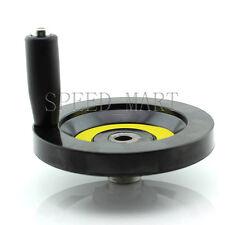 Speed Change 12 x 125mm Back Ripple Hand Wheel Lathe Milling CNC Machine screw