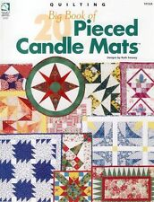 NEW BIG BOOK OF 20 PIECED CANDLE MATS