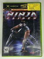 Ninja Gaiden (Microsoft Xbox, 2004) game w/case No manual