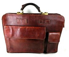 Borsa lavoro The Bridge vintage cuoio 24 ore uomo donna leather bag sac cuir 11