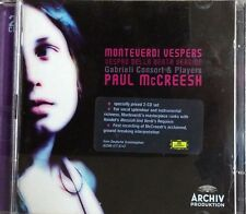 Monteverdi: Vespers (CD, Sep-2006, 2 Discs, Archiv Produktion (DG Sub-Label))