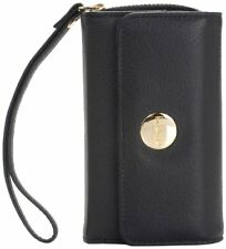 Knomo Genuine Leather Protective Case / Purse for iPhone 4S Black - 90-945-BLK