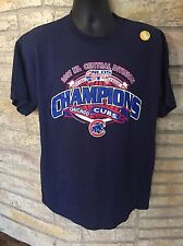 New Chicago Cubs 2007 NL Central Champions T-Shirt. Sz Large. MLB. Cubbies