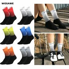 Adults Cycling Sports Socks Breathable Compression MTB Socks Elastic Anti-Sweat
