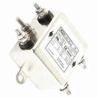 1PCS 10A CW3-10A-S Noise Suppressor Power EMI Filter AC 115/250V
