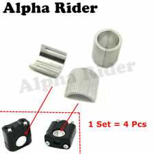 """1 1/8"""" to 7/8"""" Riser Handlebar Clamp Conversion Shims Reducer Shells Spacers"""