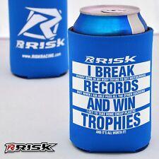 Risk Racing BIRRA Isolante Comodo Blu divertente bottiglia di birra portalattine