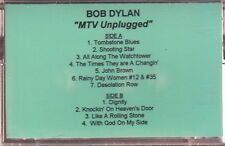 bob dylan mtv unplugged  cassette limited edition