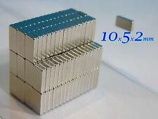 30 MAGNETI NEODIMIO 10x5x2 mm STRONG  MAGNETE CALAMITE CERAMICA FIMO CERNIT