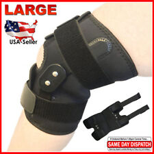 FDA Registered Adjustable Hinged Knee Brace Patella Compression Support Relief L