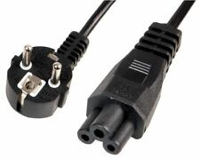 PRO ELEC - C5 Cloverleaf to Schuko Plug Power Lead, 2.5A 2m