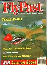 Flypast Magazine 1996 February Beagle Pup,SA Bulldog,P40,Lockheed Constellation