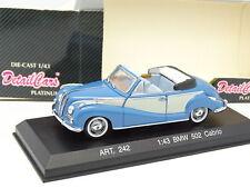 Detail Cars 1/43 - BMW 502 Cabrio Bleue