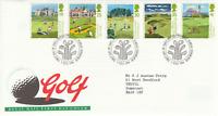 5 JULY 1994 GOLF ROYAL MAIL FIRST DAY COVER BUREAU SHS (b)
