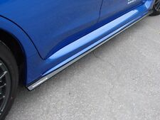 Subaru WRX/STi 2015+  Side Skirt Lip Extensions, Easy Install, Flat Black Cheap