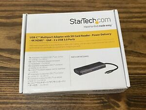 Startech Usb-c Multiport Adaptor With Sd Card Reader