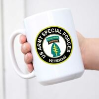 U.S. Army Veteran Special Forces Airborne Coffee Mug Tea Cup Novelty Gift Mugs