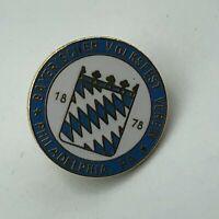 Vintage Bayerischer Volksfest Verein Philadelphia PA Lapel Pin Bavarian Club Q3
