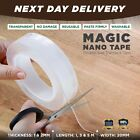 Nano Magic Clear Double Sided Grip Tape Traceless Removable Washable Adhesive  <br/> ⭐⭐⭐⭐⭐ Next Day Delivery ✅Reusable ✅2021 Model✅