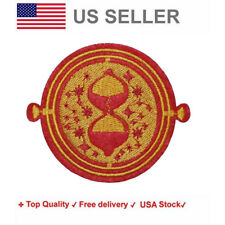 Time Turner Iron On / Sew On Embroidery Patches harry potter motif hogwarts sand