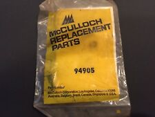 NOS McCulloch 310 320 330 340 Chainsaw Filter Bracket and Choke P/N 94905 LOC.37
