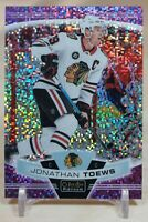 Jonathan Toews 2019-20 O-Pee-Chee Platinum Violet Pixels /399 #20 Chicago Hawks