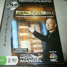 NEW DVD DEAL OR NO DEAL THE INTERACIVE GAME SHOW BY HOWIE MANDEL SEALED