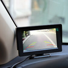 New 4.3 LCD TFT Foldable Color Monitor Screen For Car Reverse Rearview Camera