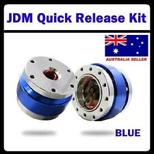 JDM Quick Release Kit / Snap Off Kit *Universal* Blue