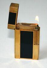 S.T.DUPONT FEUERZEUG LINIE 1 groß CHINALACK / GOLD LIGHTER Originalware