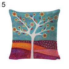 Ветвь птица льняной диванная подушка чехол защитный чехол на подушку домашний диван автомобильный декор