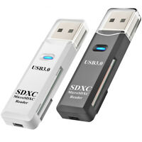 USB 3.0 High Speed Card Reader Adapter for Micro SD SDXC TF T-Flash Memory Card