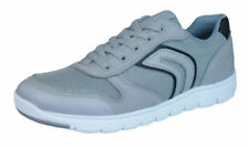 Scarpe scarpe da ginnastici grigi marca Geox per bambini dai 2 ai 16 anni