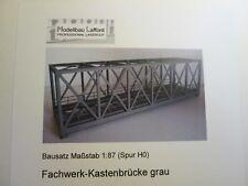 Auhagen 11442 H0 Erweiterung Blechträgerbrücke + NEU /& OVP