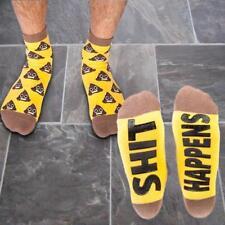 Poo Emoji Sh#t Happens Socks | koolface non-slip non slip soles