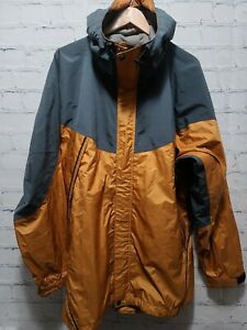 REI Elements Size XL X-Large Yellow Vented Cycling Jacket Unisex