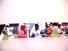 1-80 Complete Box Set  2008 Just Autographs Minors Baseball Rookies  FREE SHIP