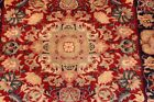 12' LONG TOP QUALITY HAND KNOTTED Beautiful great quality runner red, navy
