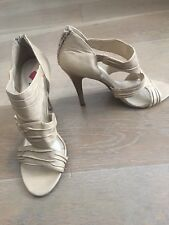 Luichiny Strappy Nude Heels - Size 8