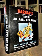 Tintin au pays des mots : Dictionnaire illustré, Anglais-Français- HERGE