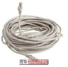 Cavo di Rete Cat.5 30 Metri 30MT Categoria 5 Internet Ethernet Lan Plug Rj45