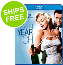 The Seven Year Itch (Blu-ray, 2012) NEW, Sealed, Marilyn Monroe, Tom Ewell