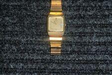 Gold Seiko 6533 Quartz - 25 Years of Service Inscription on Back