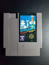 Gyromite Black Box Game Authentic Nintendo NES EXMT condition 5 Screw cartridge