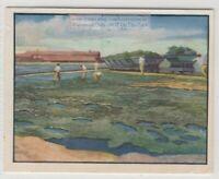 Trinidad's Lake Of Pitch Asphalt Vintage Trade Ad Card