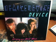 """Device """"Hanging On A Heart Attack"""" Oz PROMO PS 7"""""""