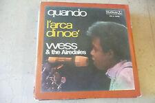 "WESS&AIREDALES""L'ARCA DI NOE'-disco 45 giri DURIUM 1970"" RARO"""