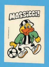 JUVE NELLA LEGGENDA-Ed.MASTER 91-Figurina/ADESIVO n.47- MASSICCI !-NEW
